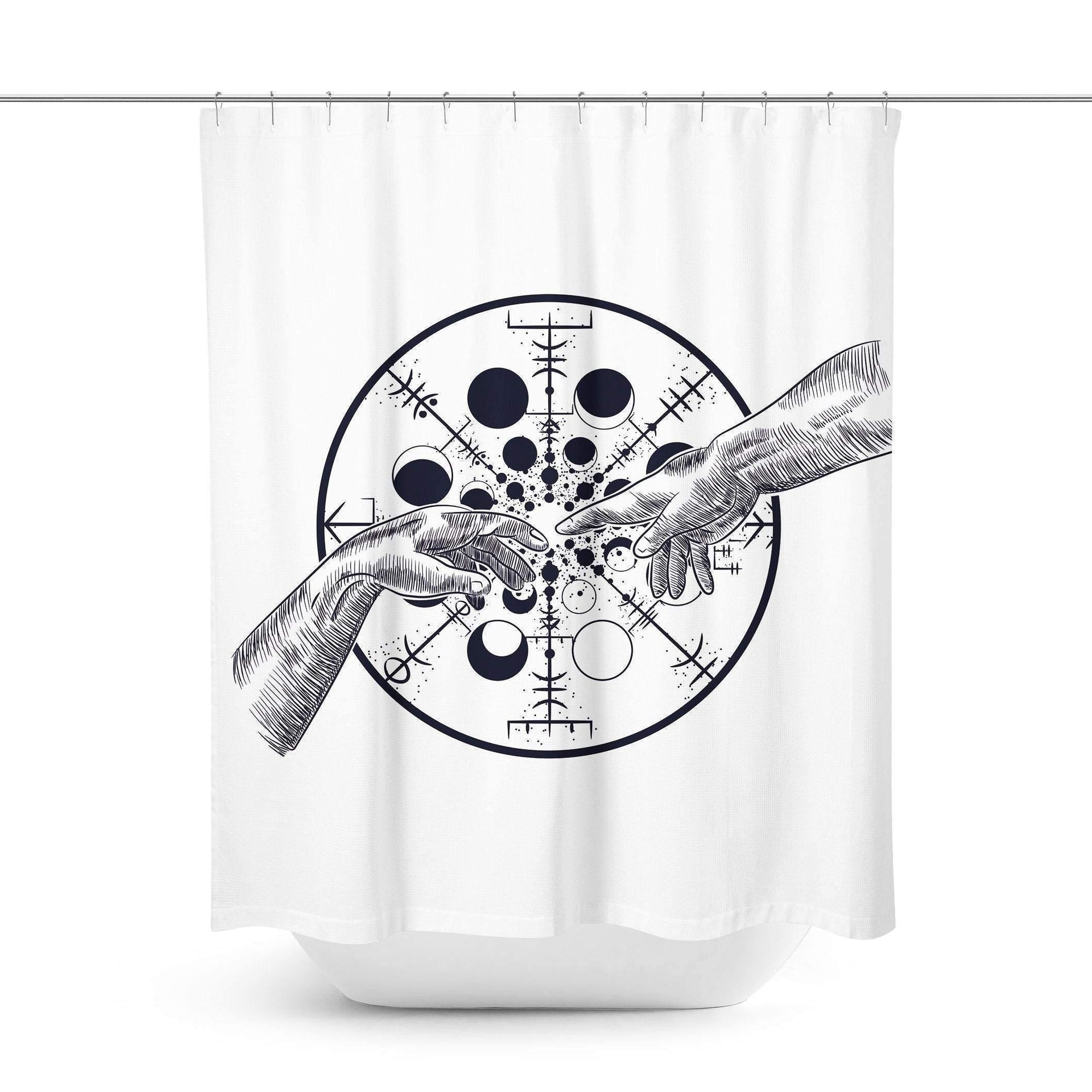 Celestial Space Shower Curtain-W.FRANCIS