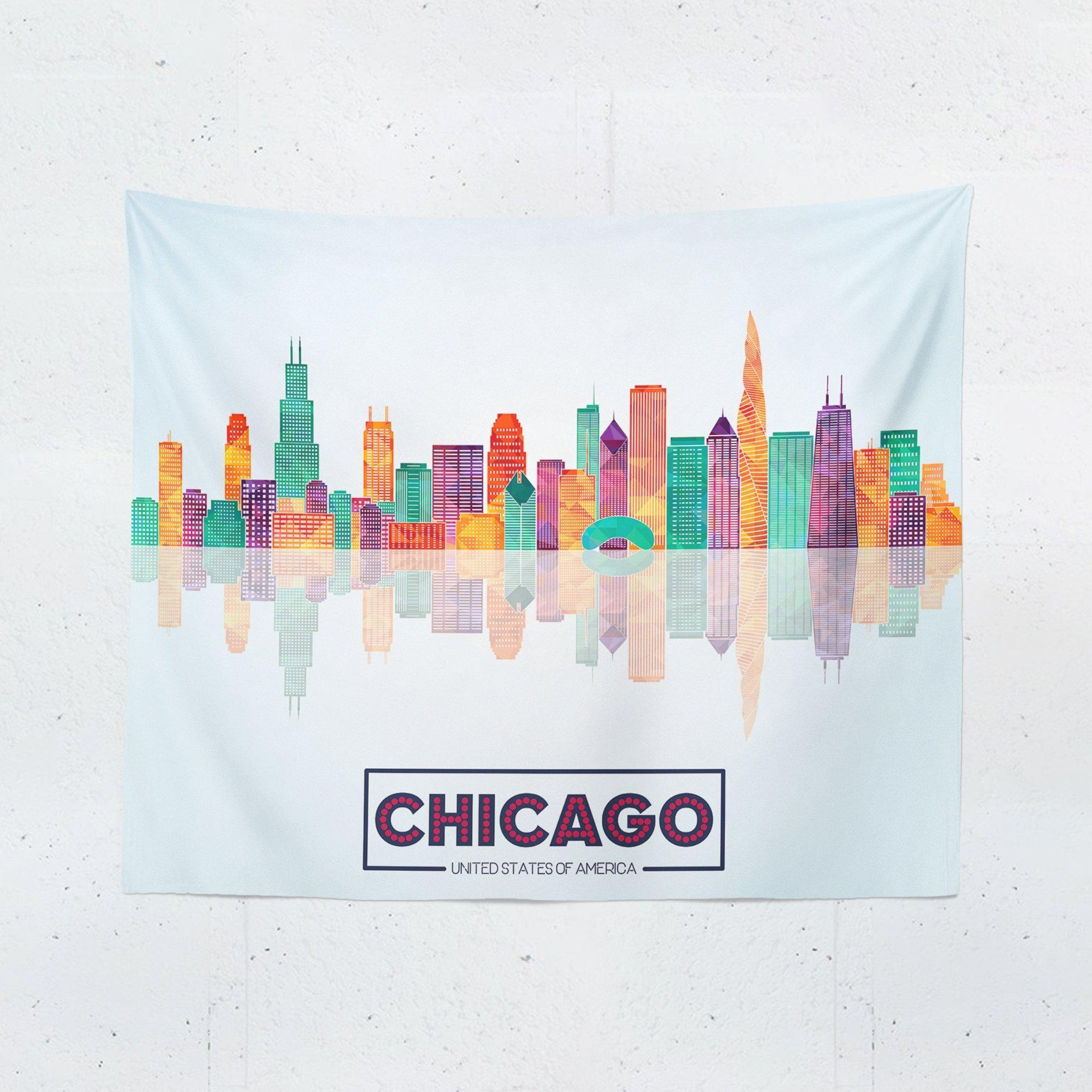 Chicago Tapestry - Tapestries - W.FRANCIS