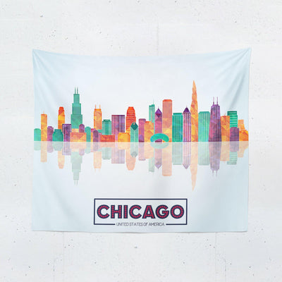 Chicago Tapestry-W.FRANCIS