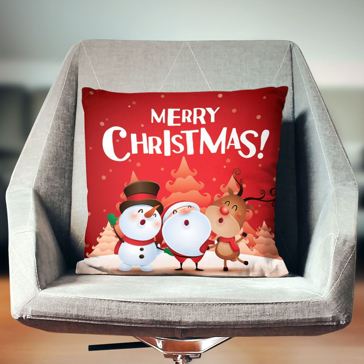 Christmas Decorative Pillow-W.FRANCIS