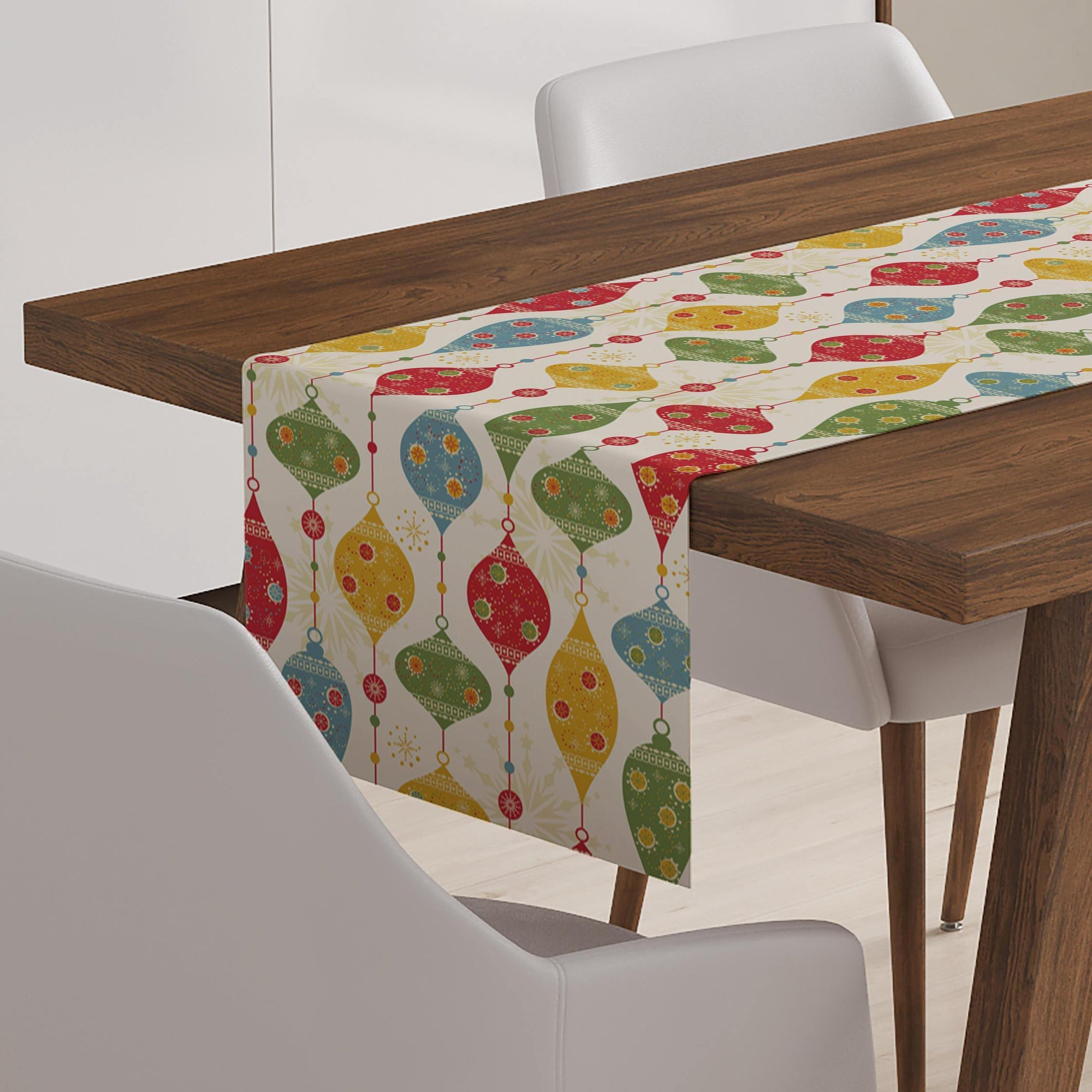 Christmas Pattern Table Runner-W.FRANCIS