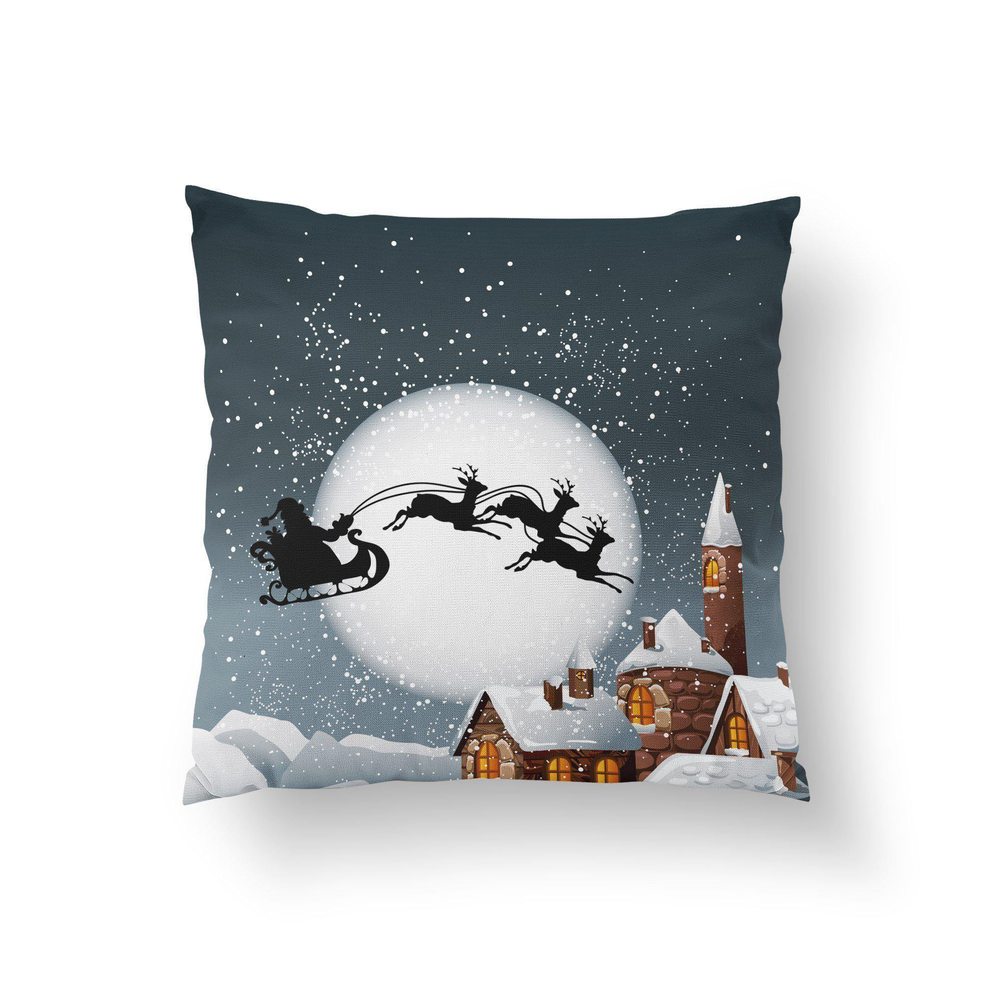 Christmas Pillow Cover-W.FRANCIS