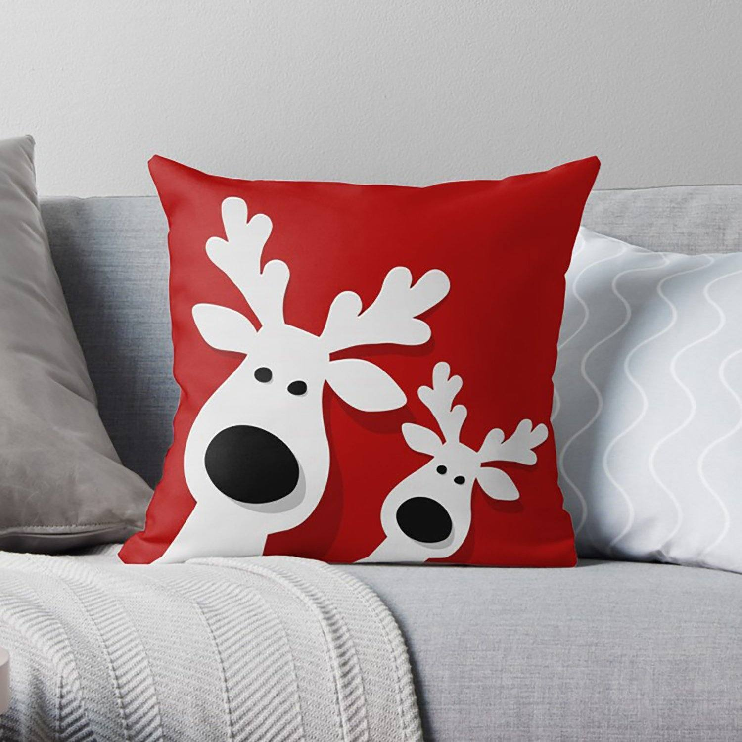 Christmas Pillow-W.FRANCIS