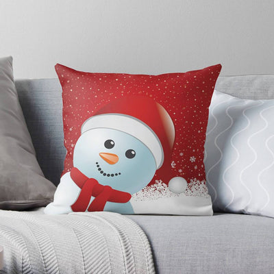 Christmas Snowman Pillow | Pillow Covers | wFrancis Design
