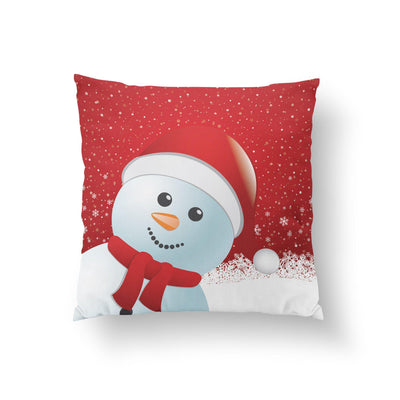 Christmas Snowman Pillow - Pillow Covers - W.FRANCIS