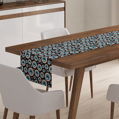 Eyeball Table Runner-W.FRANCIS