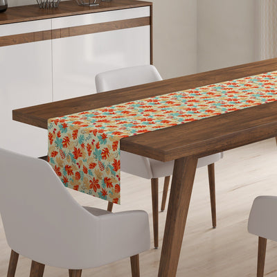 Fall Foliage Table Runner-W.FRANCIS