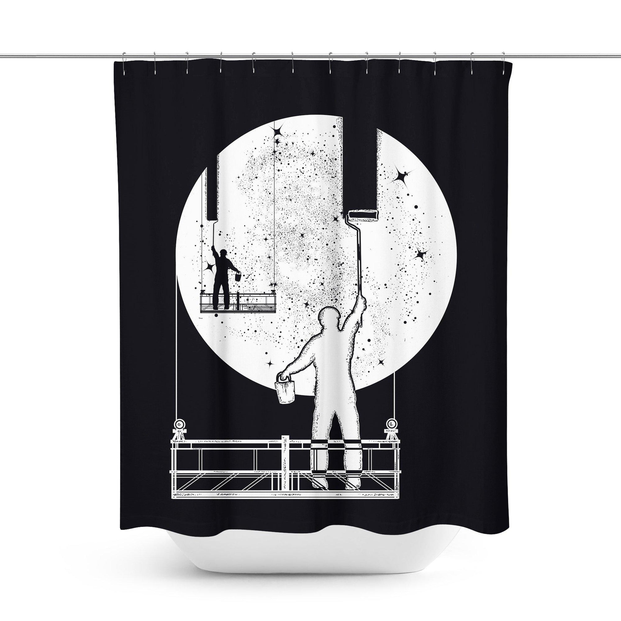 Cool Shower Curtain-W.FRANCIS
