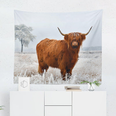 Cow Tapestry-W.FRANCIS