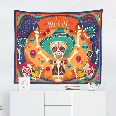 Day of the Dead Tapestry-W.FRANCIS