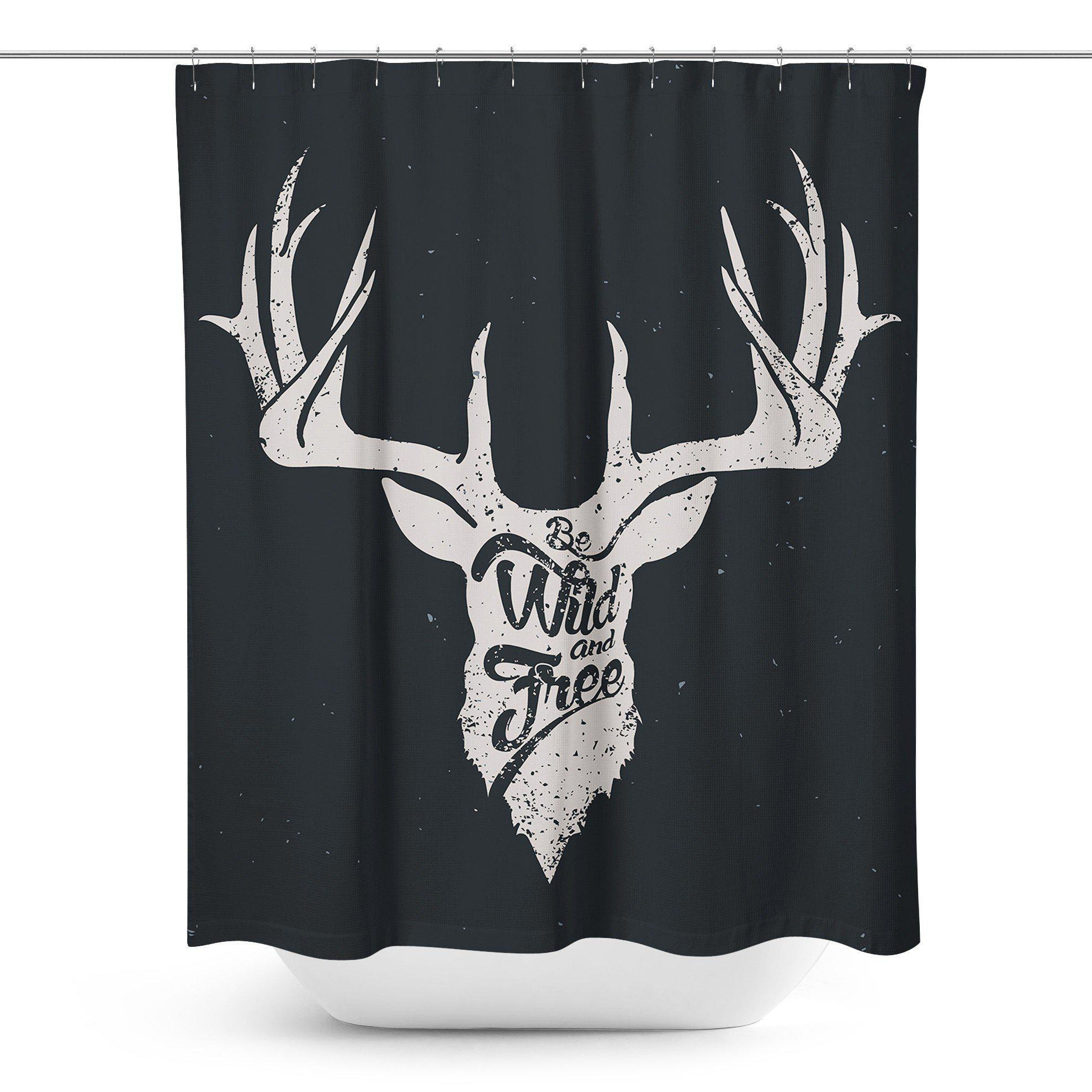 Deer Shower Curtain-W.FRANCIS