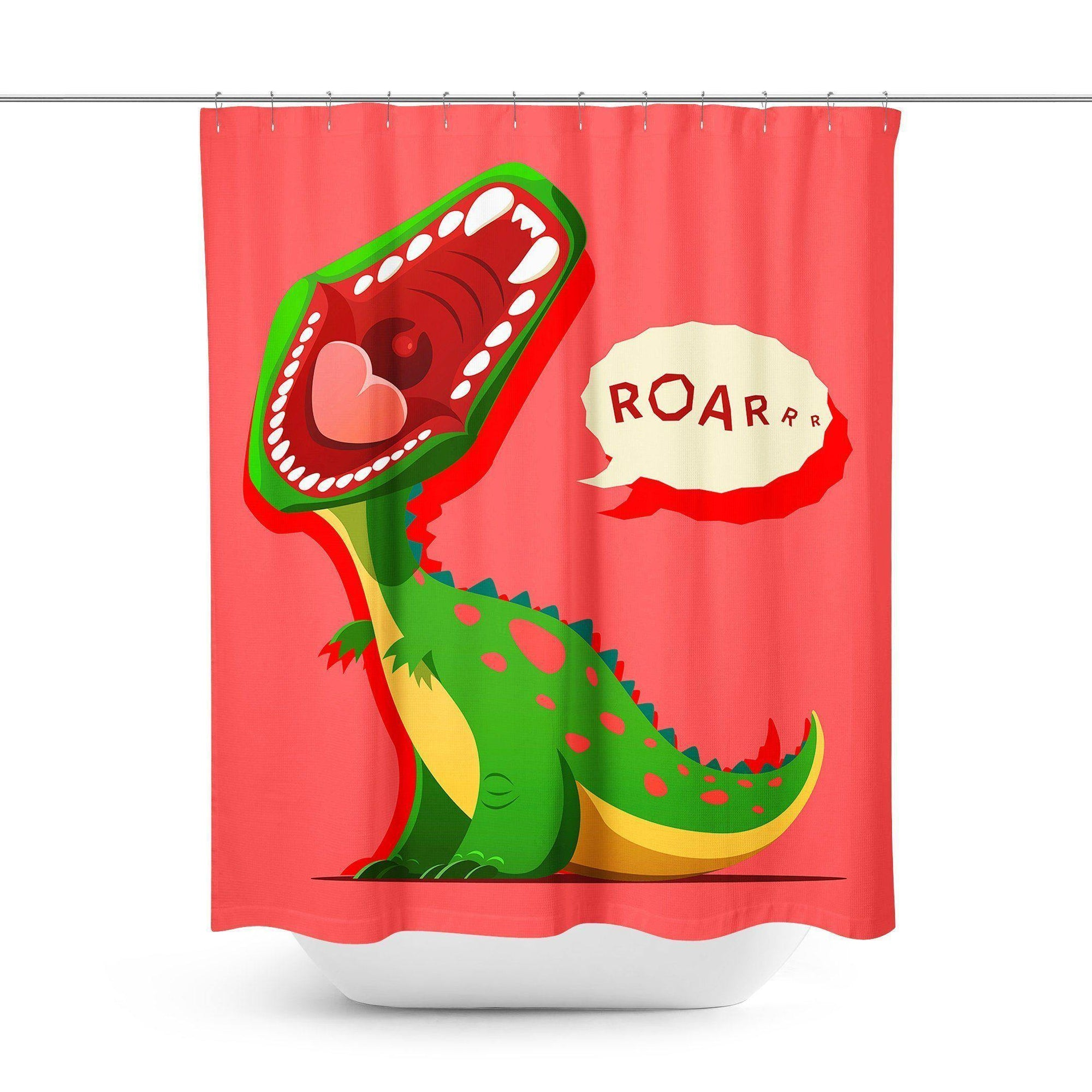 Dinosaur Shower Curtain-W.FRANCIS