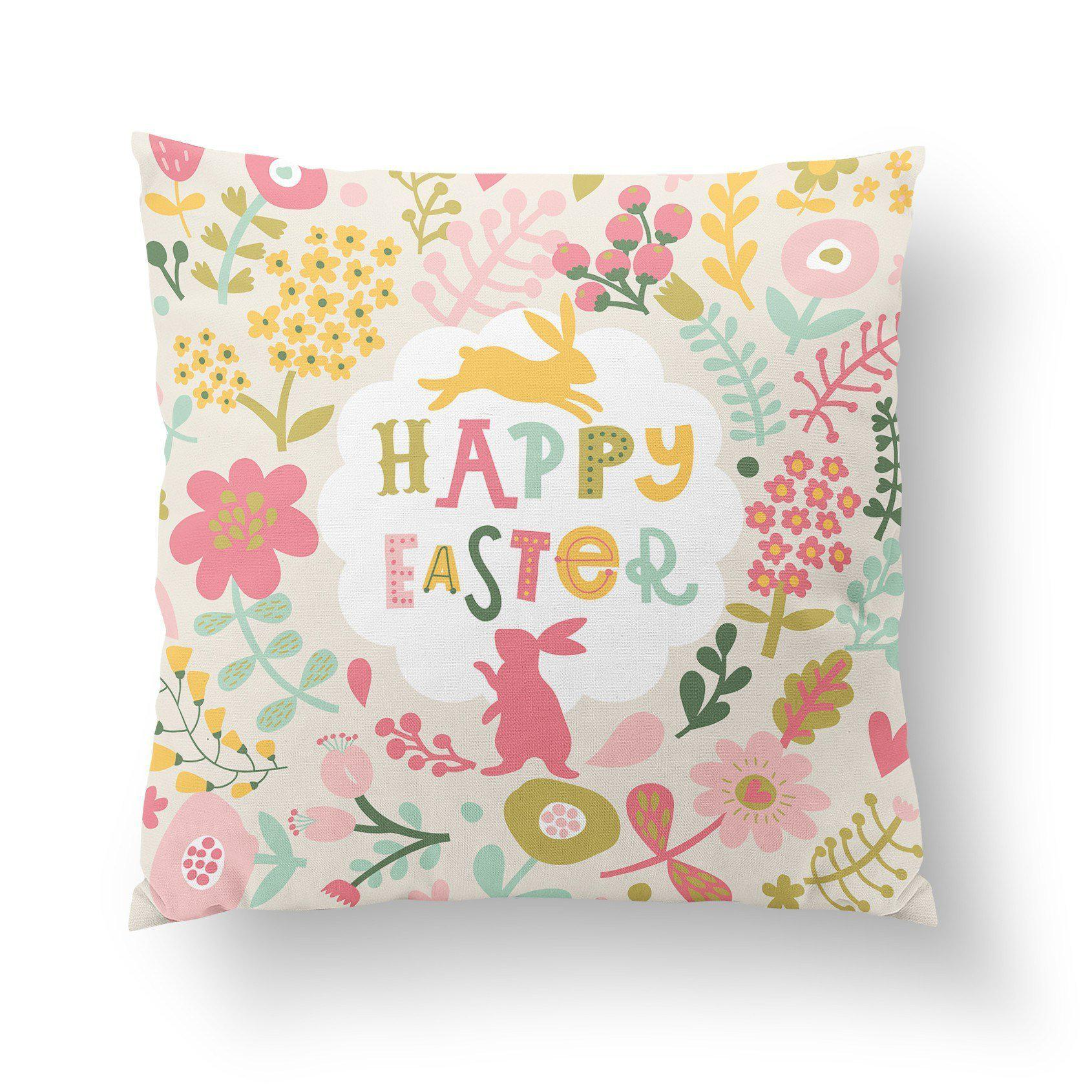 Easter Pillow Cover - Pillow Covers - W.FRANCIS