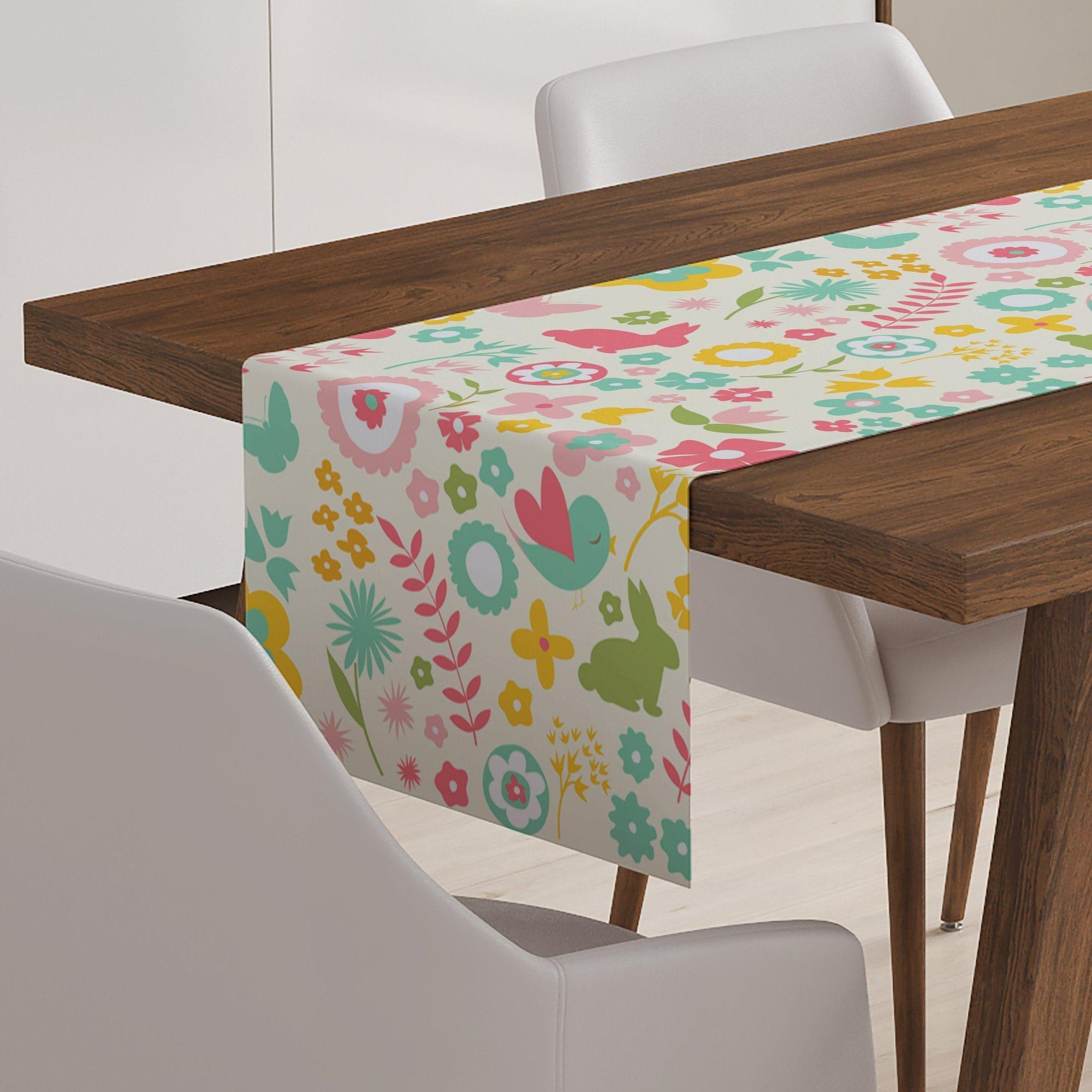 Easter Spring Table Runner-W.FRANCIS