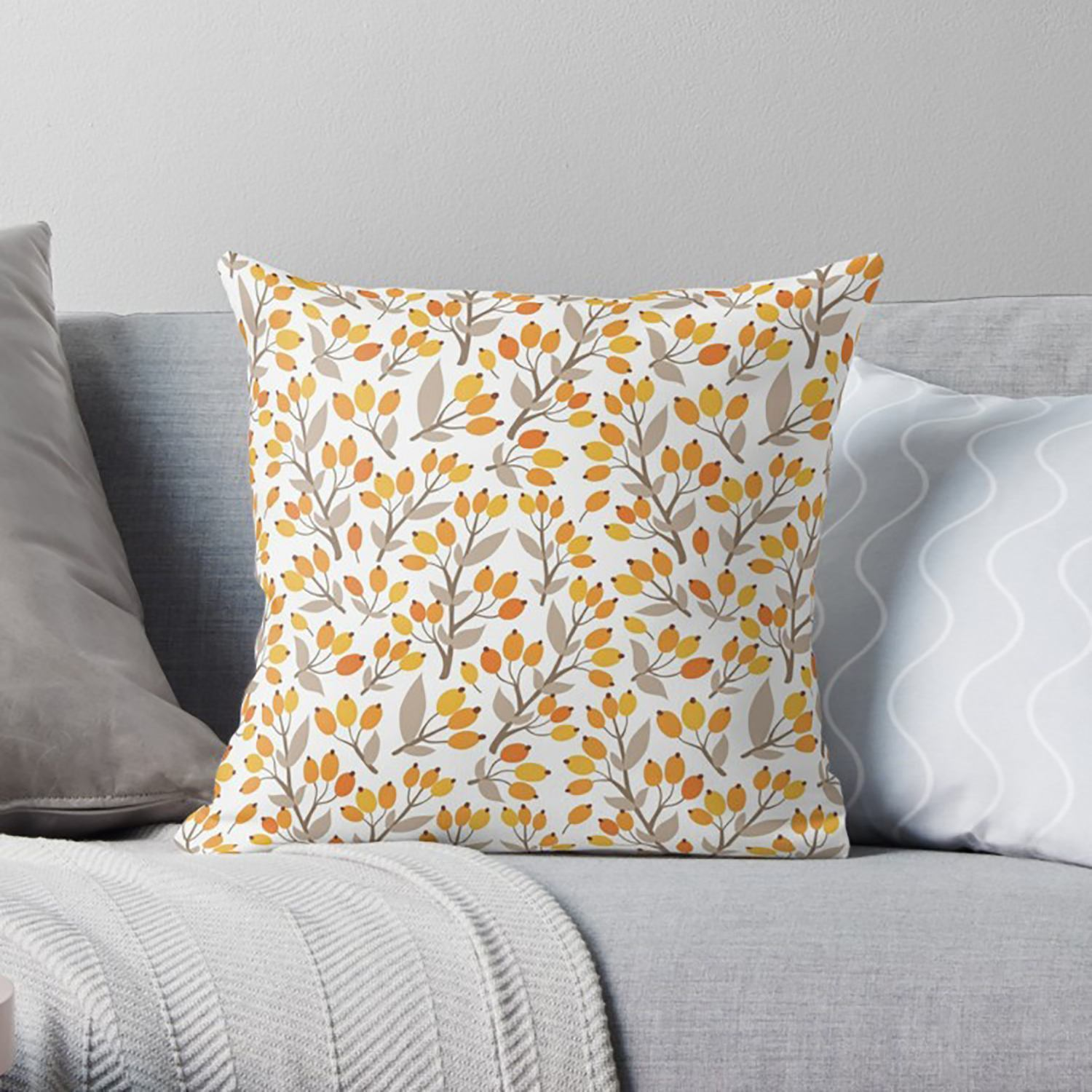 Fall Pillow-W.FRANCIS