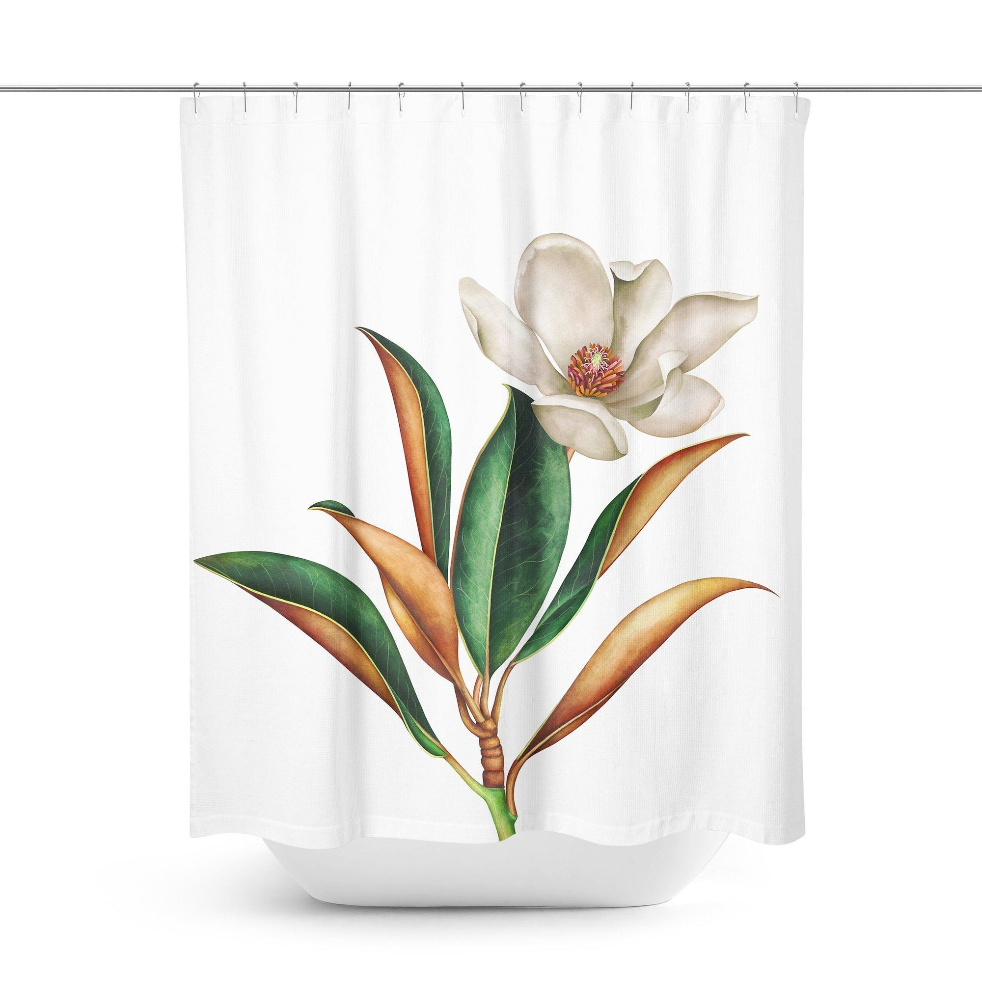 Flower Shower Curtain-W.FRANCIS