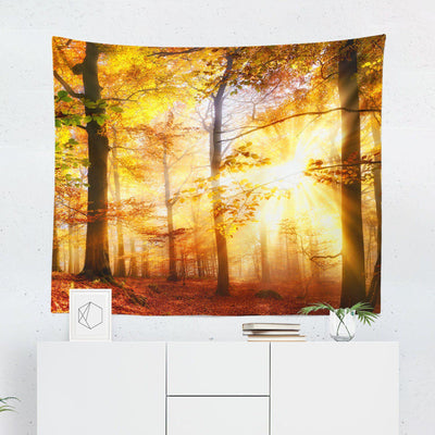"Forest ""Autumn"" Wall Tapestry-W.FRANCIS"