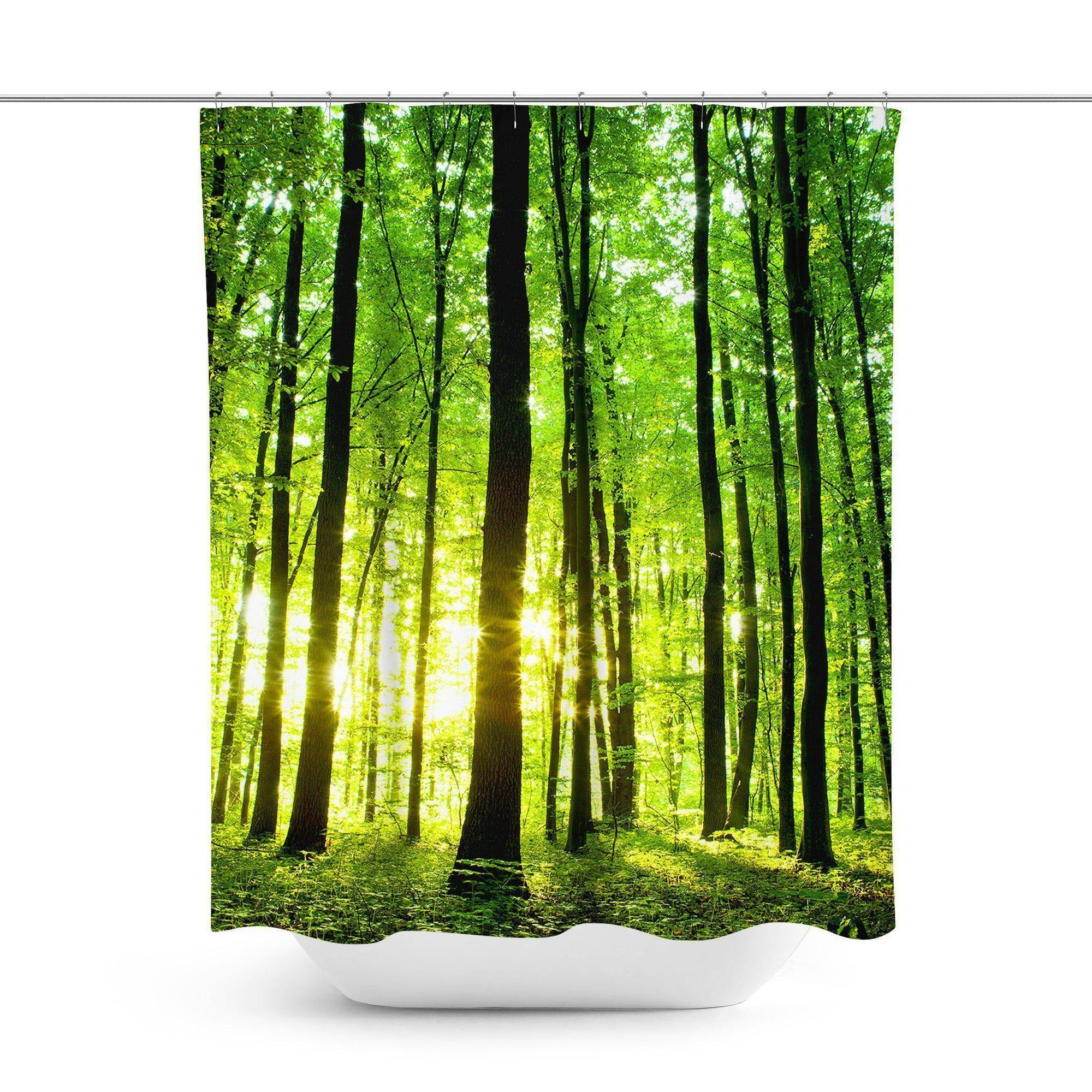 Forest Shower Curtain-W.FRANCIS