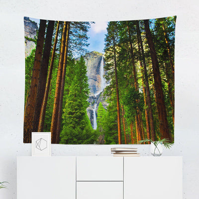 "Forest ""Waterfall"" Tapestry-W.FRANCIS"