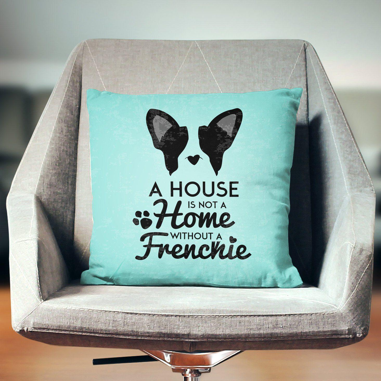 French Bulldog Pillow Case-W.FRANCIS