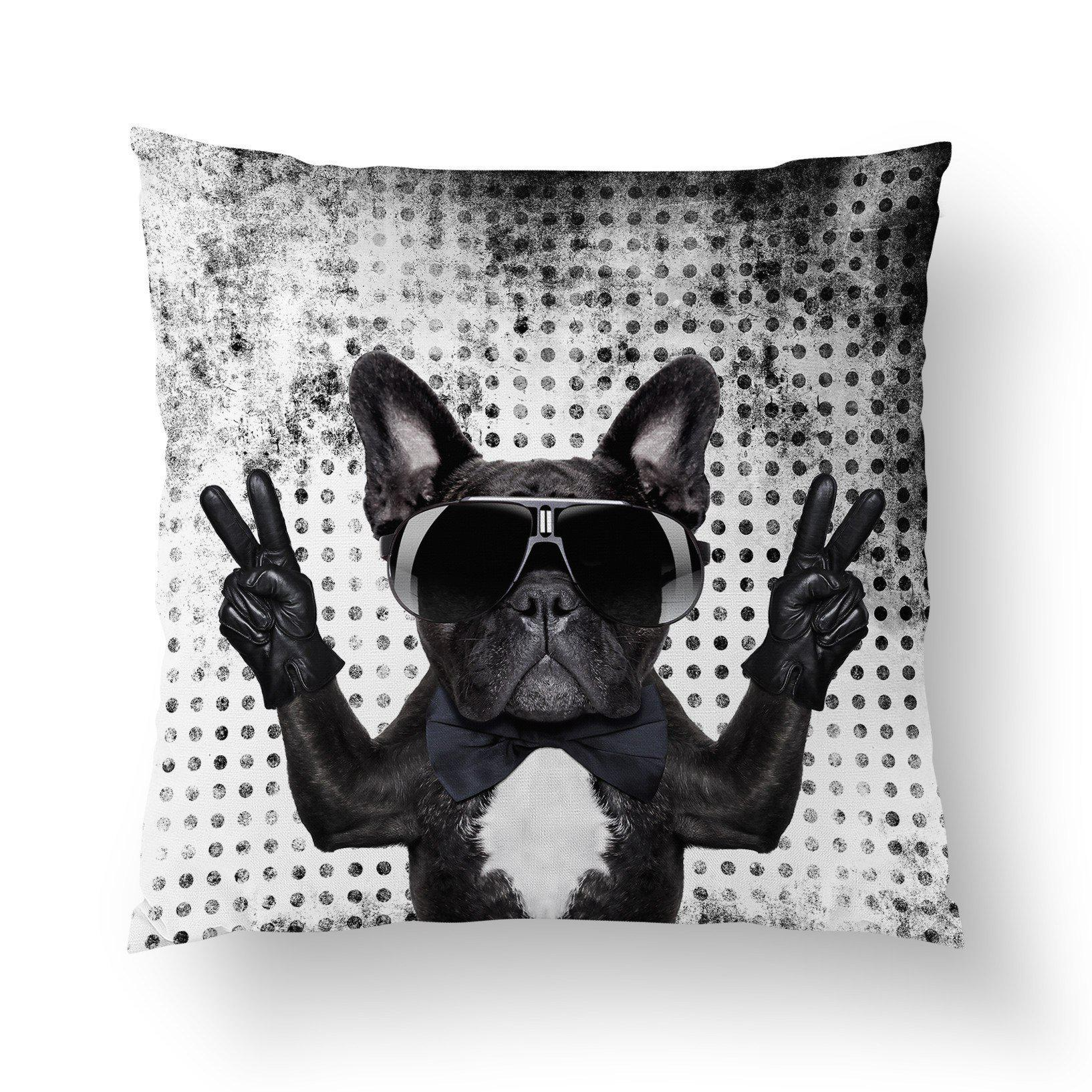 French Bulldog Pillow Cover - Pillow Covers - W.FRANCIS