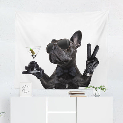 French Bulldog Wall Tapestry - Tapestries - W.FRANCIS