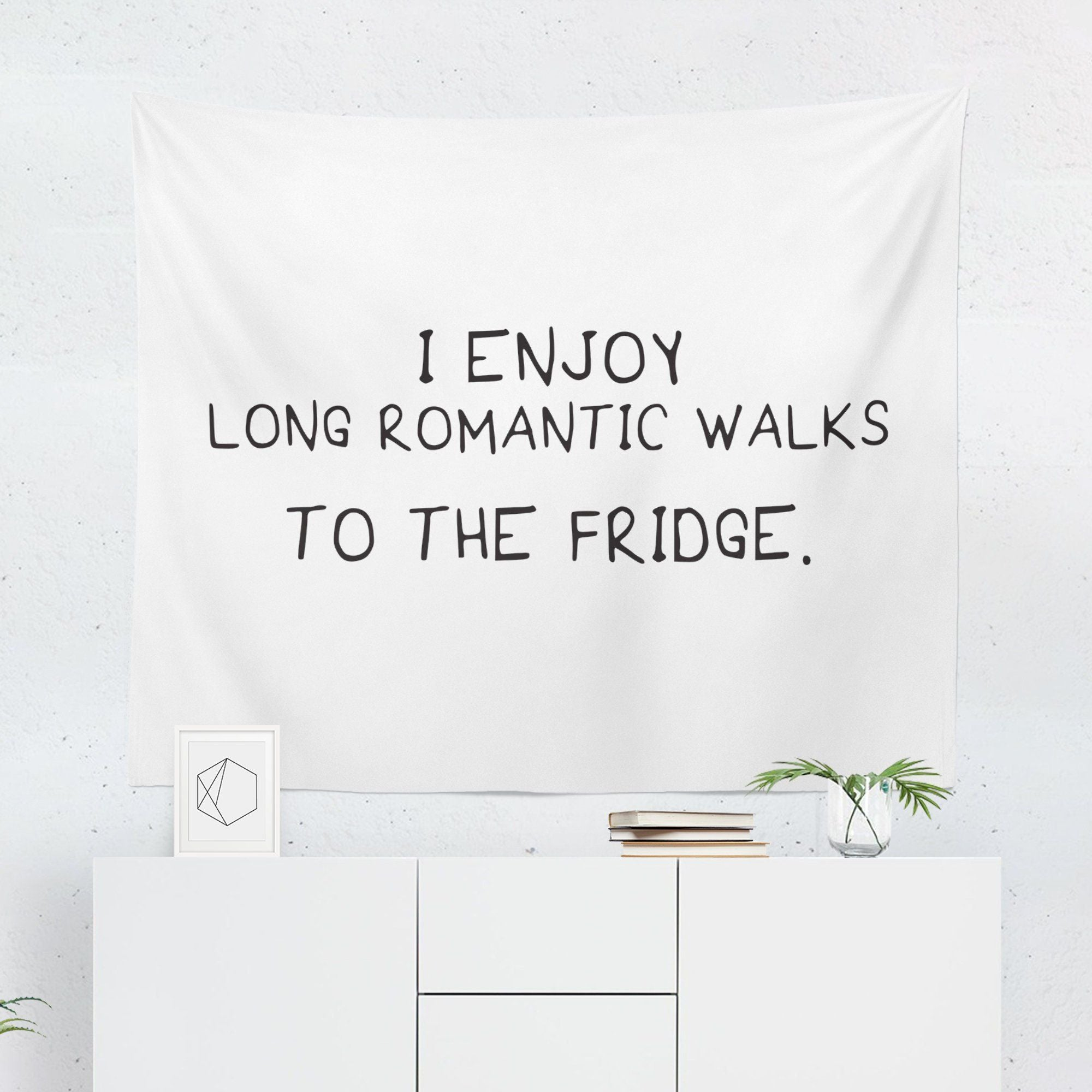 Funny Quote Wall Tapestry-W.FRANCIS