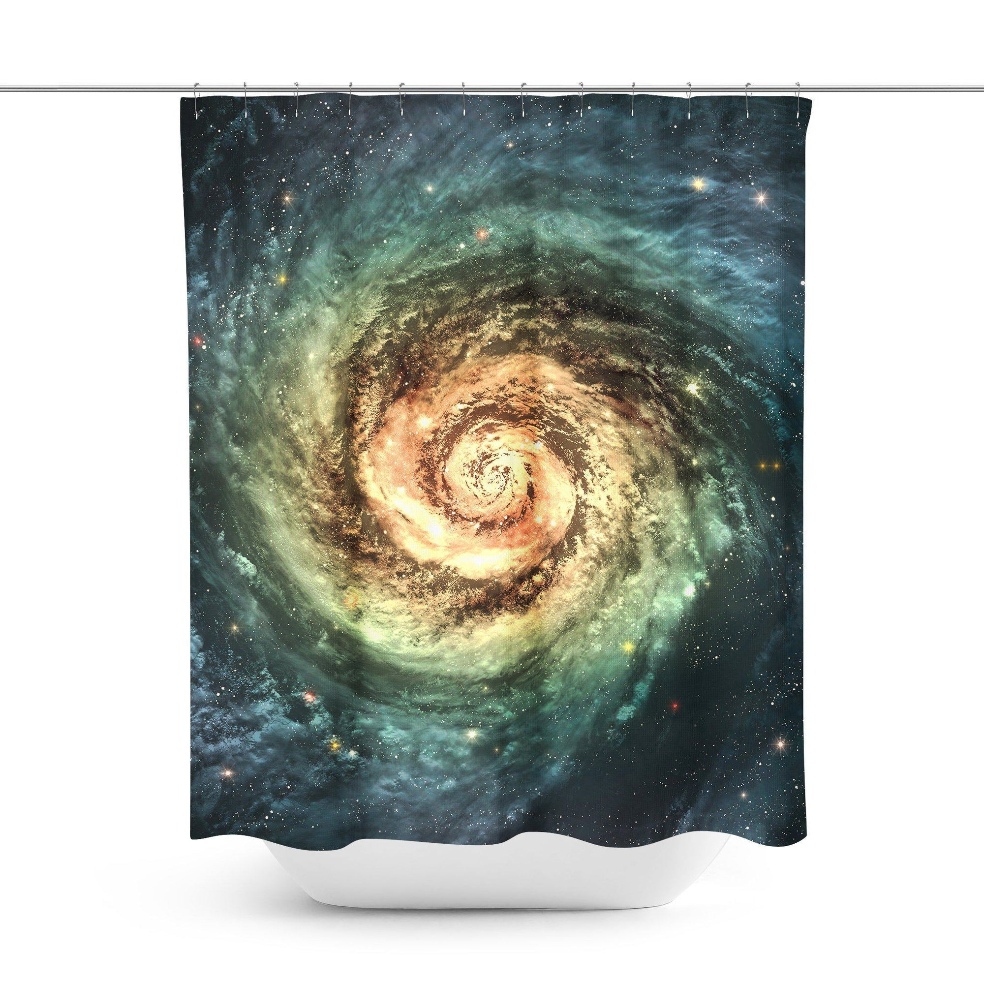 Galaxy Space Shower Curtain - Shower Curtains - W.FRANCIS