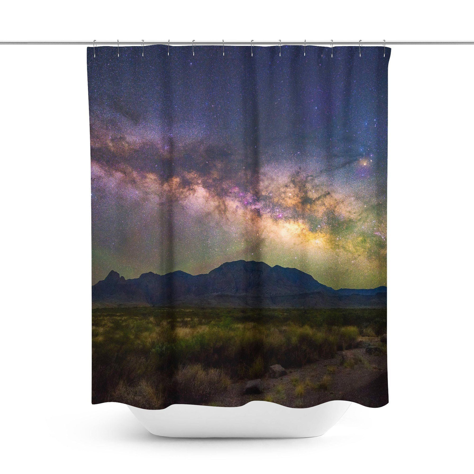 Galaxy Universe Shower Curtain-W.FRANCIS
