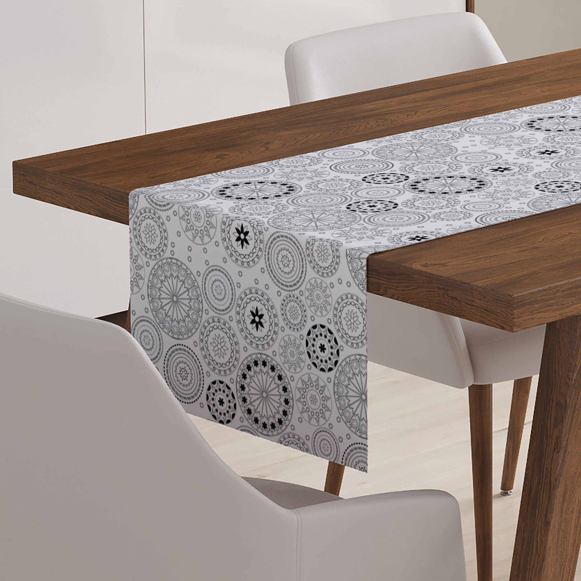 Geometric Circle Table Runner - Table Runners - W.FRANCIS