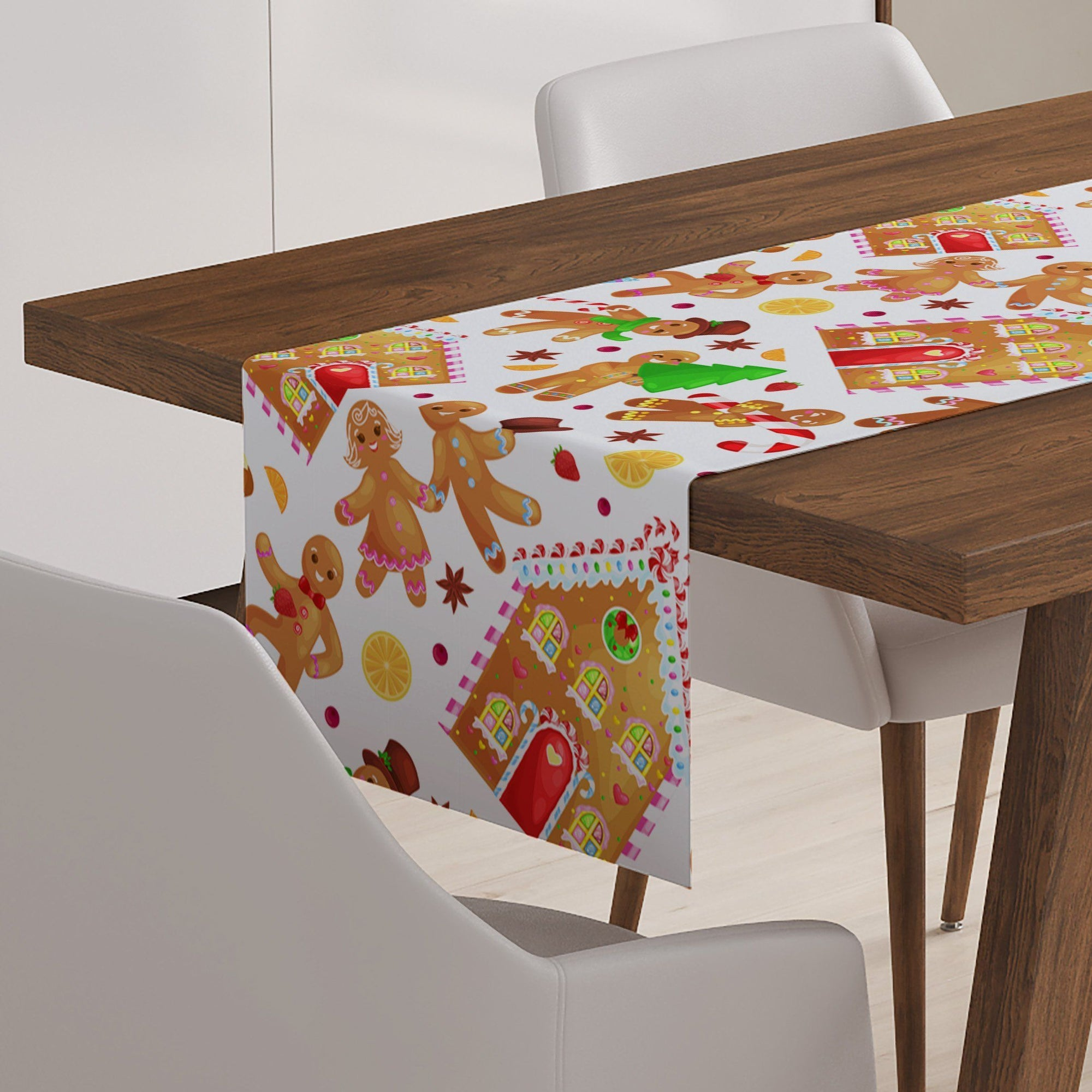 Gingerbread Man Table Runner - Table Runners - W.FRANCIS