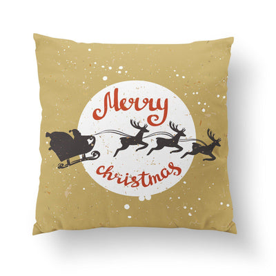 Gold Christmas Pillow - Pillow Covers - W.FRANCIS