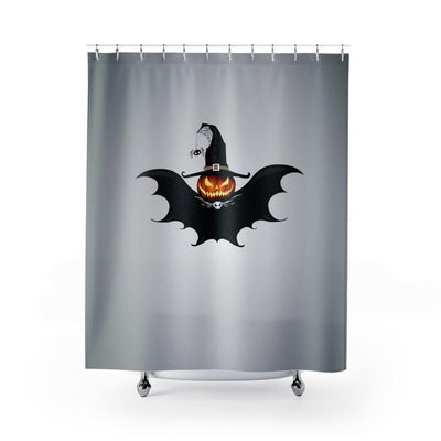 Halloween Bat Shower Curtain-W.FRANCIS