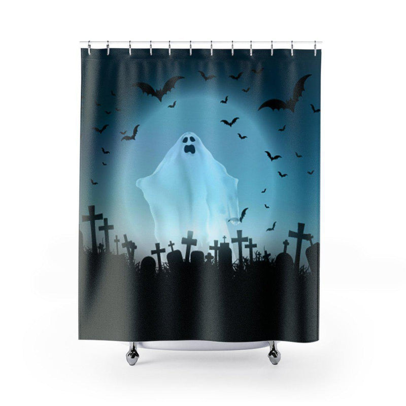 Halloween Ghost Shower Curtain-W.FRANCIS