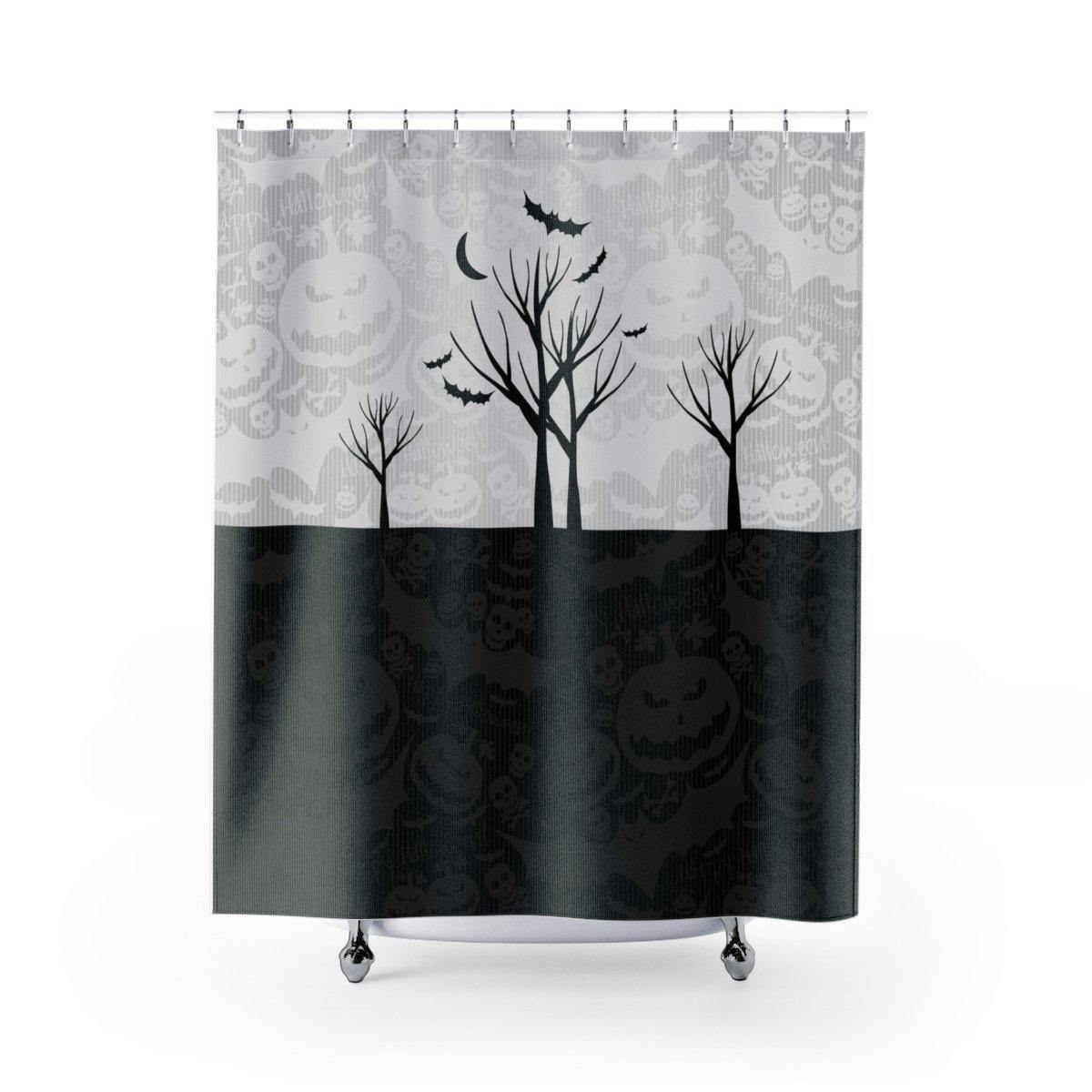 Halloween Shower Curtain-W.FRANCIS