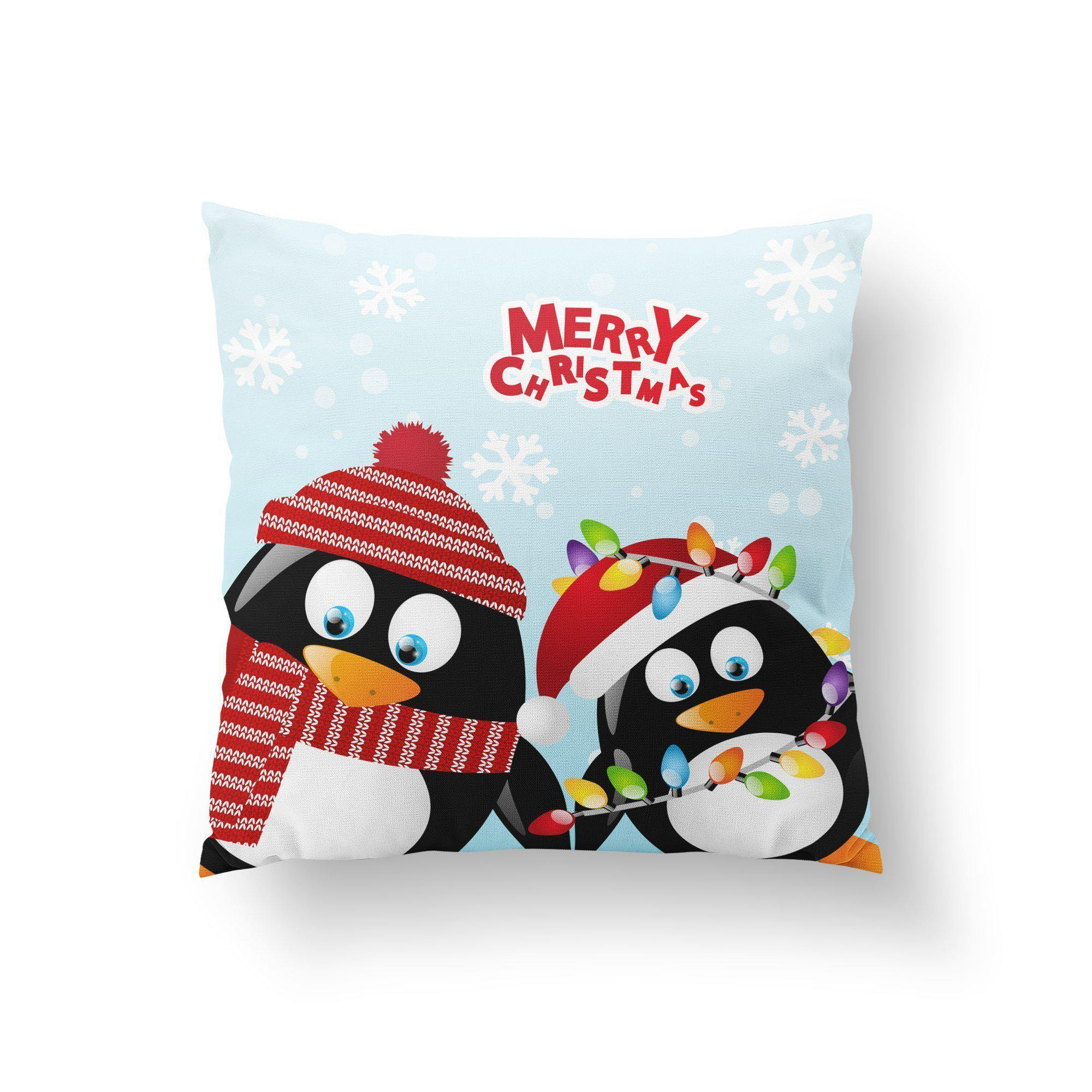 Holiday Pillow Cover-W.FRANCIS