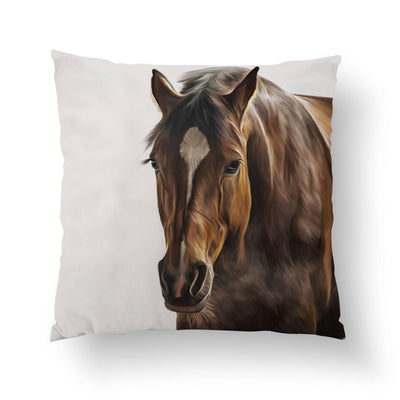 Horse Pillow-W.FRANCIS