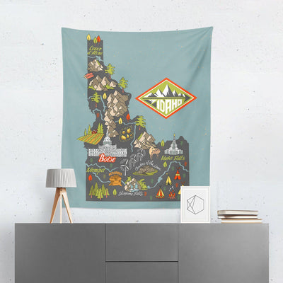 Idaho Tapestry - Tapestries - W.FRANCIS