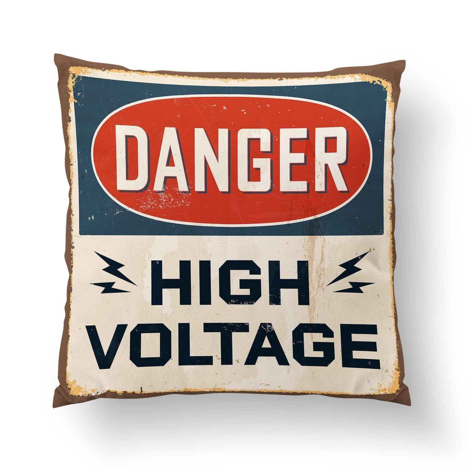 Industrial Throw Pillow-W.FRANCIS