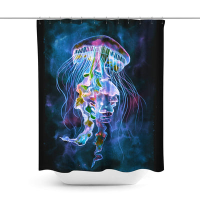 Jellyfish Shower Curtain-W.FRANCIS