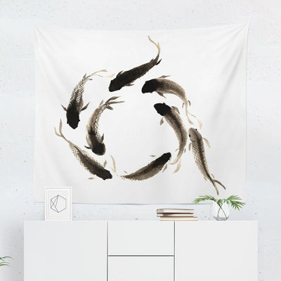 Koi Tapestry-W.FRANCIS