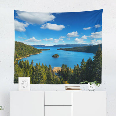 Lake Tahoe Tapestry - Tapestries - W.FRANCIS