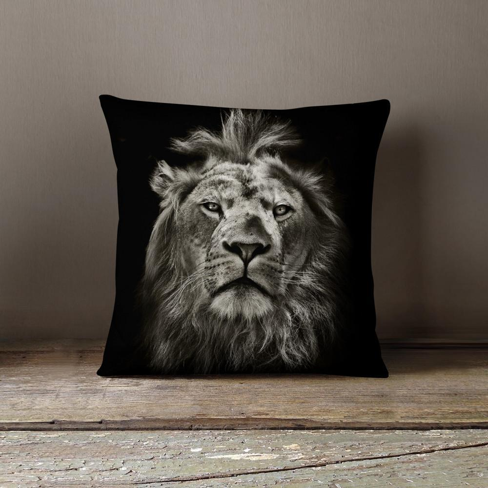 Lion Pillow - Pillow Covers - W.FRANCIS