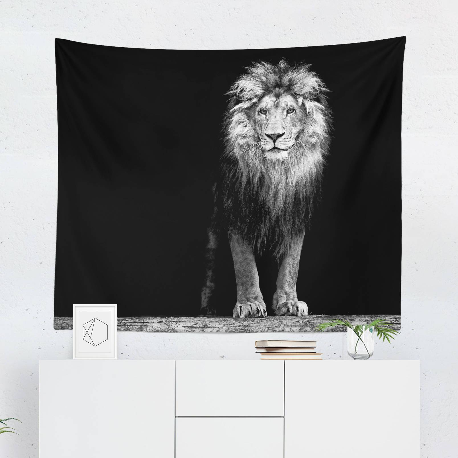Lion Tapestry-W.FRANCIS