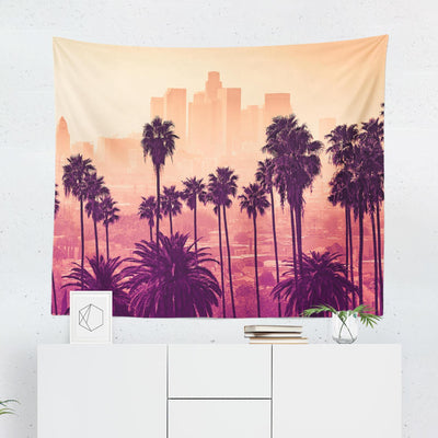Los Angeles Palm Tapestry - Tapestries - W.FRANCIS