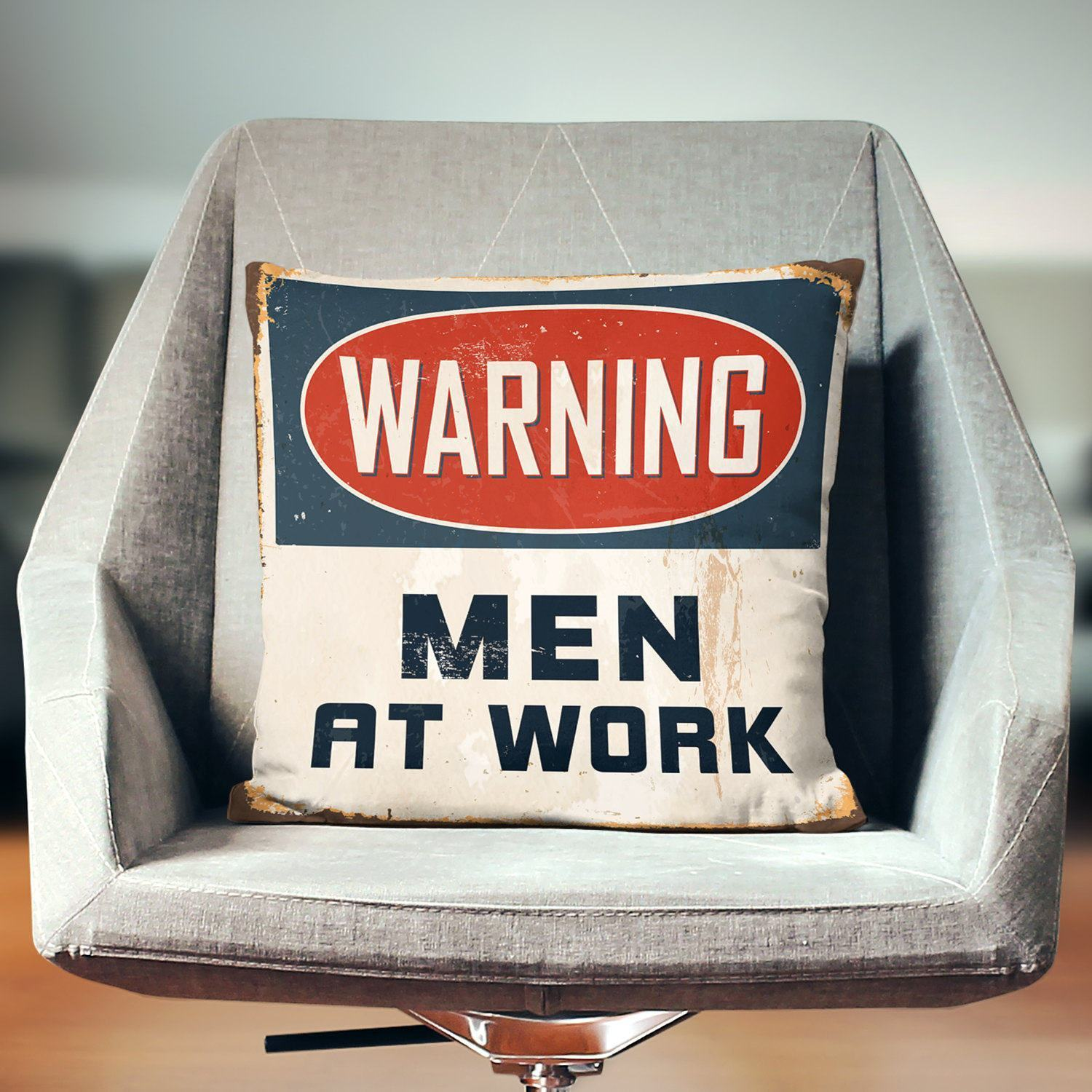 Man Cave Pillow-W.FRANCIS