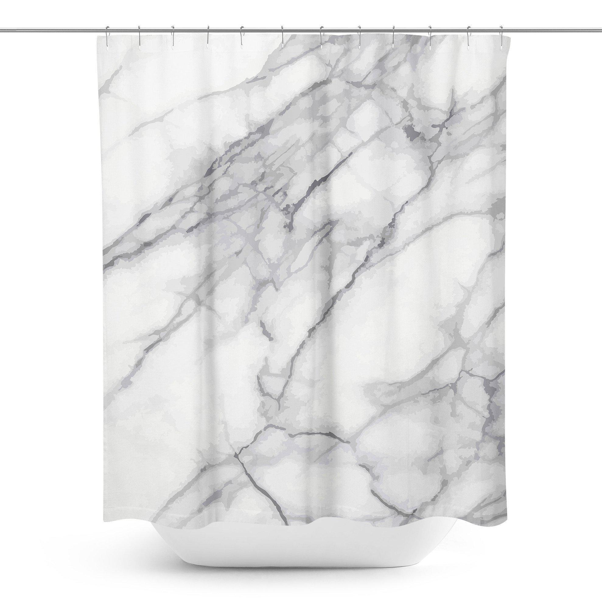 Marble Shower Curtain - Shower Curtains - W.FRANCIS
