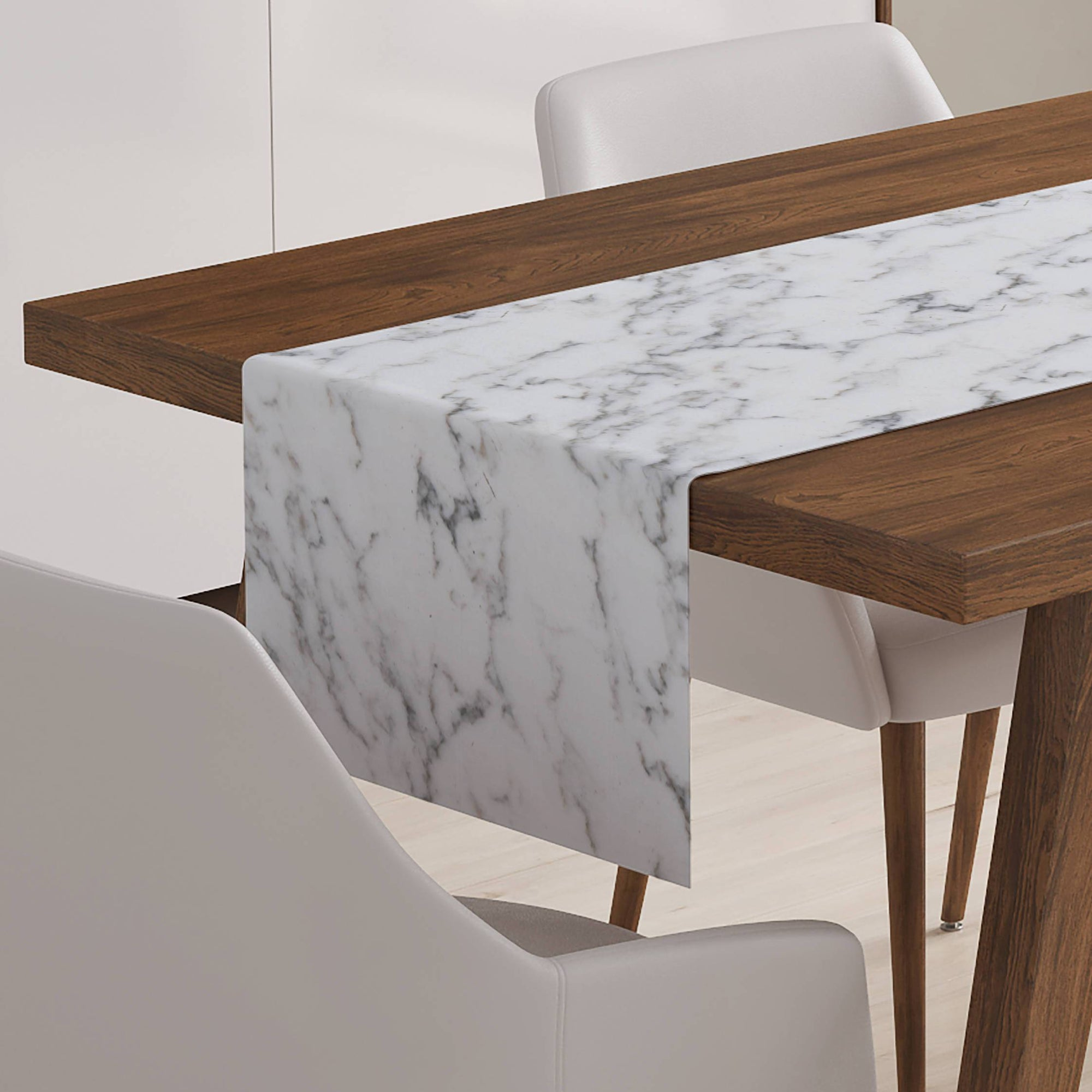 Marble Table Runner-W.FRANCIS