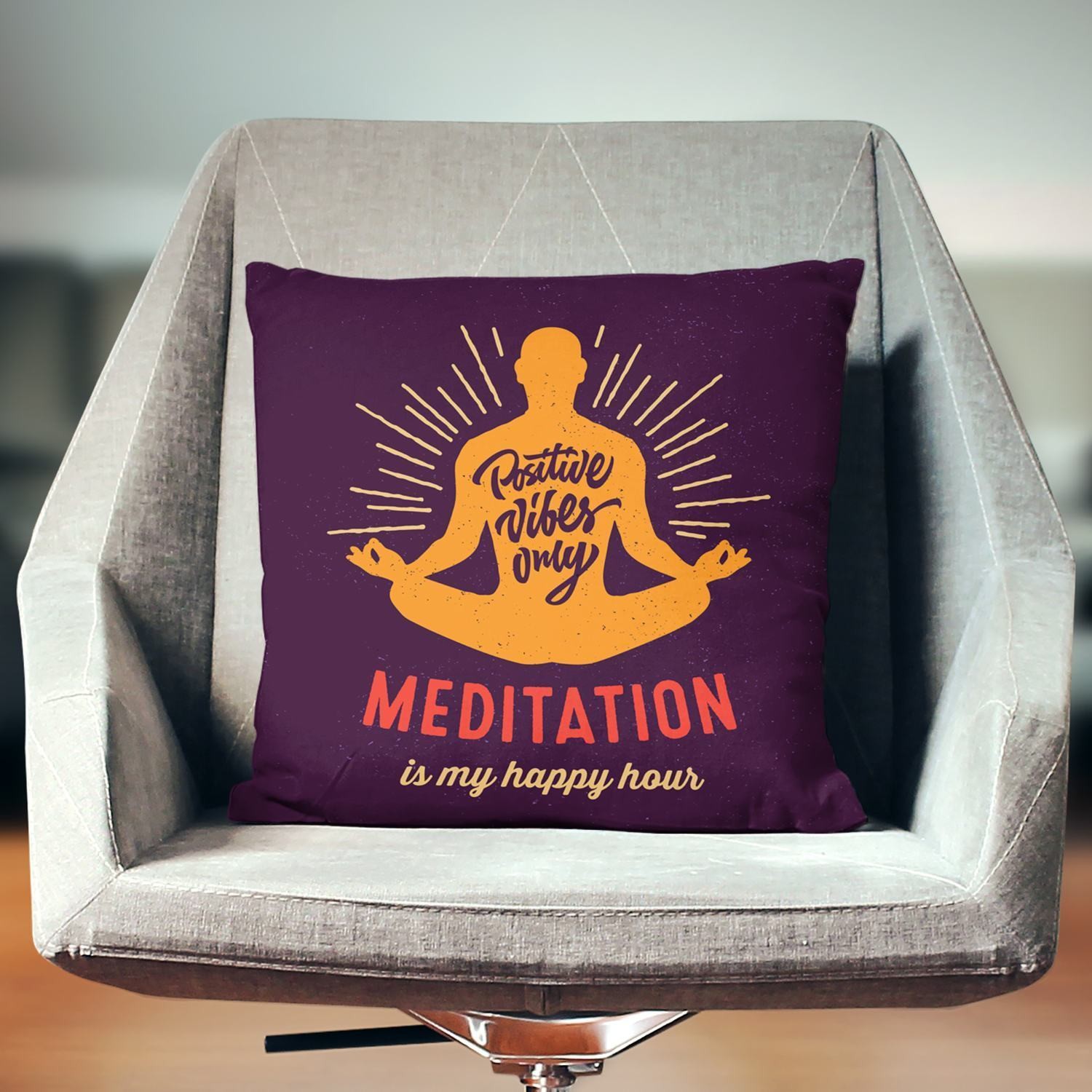 Meditation Pillow-W.FRANCIS