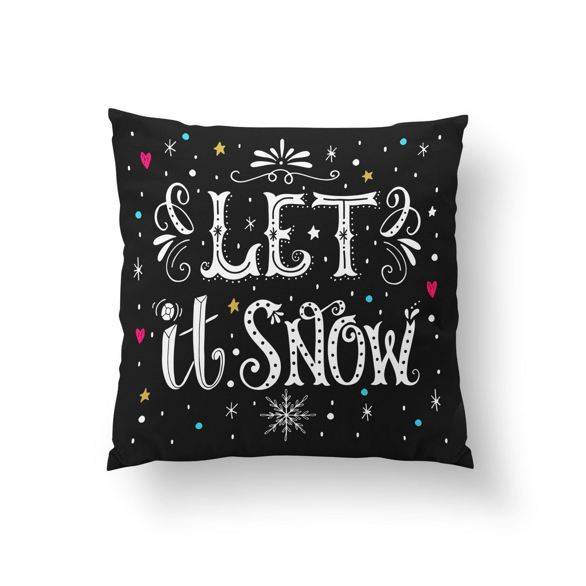 Modern Christmas Throw Pillow - Pillow Covers - W.FRANCIS